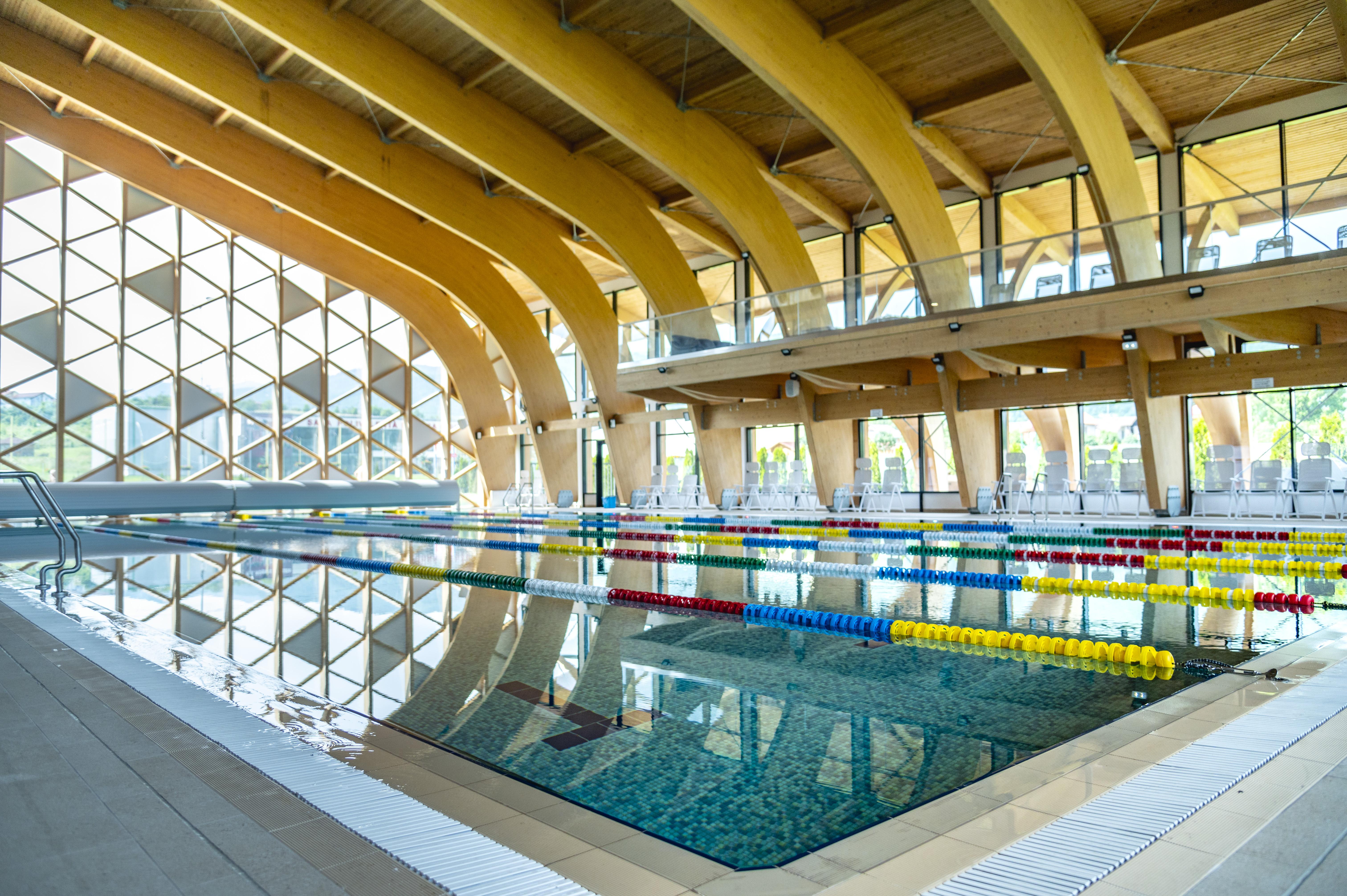 Investiție de două milioane de euro: se deschide centrul SPA Aria Măgura. Bazin de înot, SPA, sală de sport și servicii de recuperare pentru sibieni