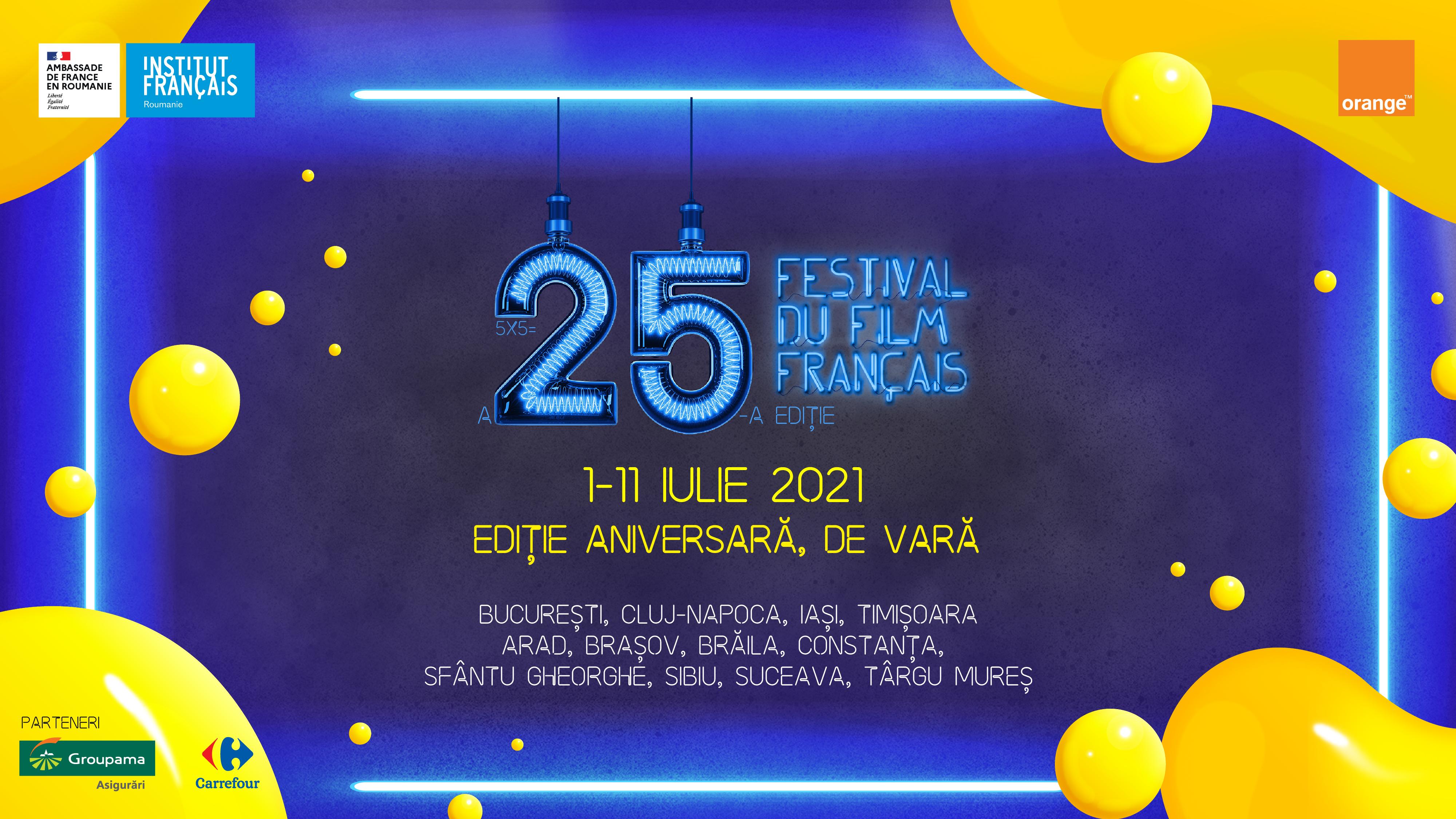 Festivalul filmului francez la Sibiu. Șase producții din cinematografia francofonă rulează în iulie la Fabrica de cultură