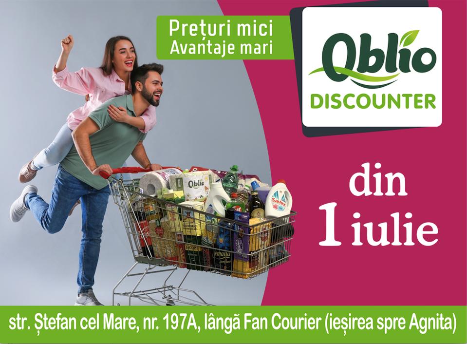 Un nou magazin se deschide în Sibiu. Oblio DISCOUNTER aduce o gamă variată de produse la prețuri avantajoase pentru sibieni