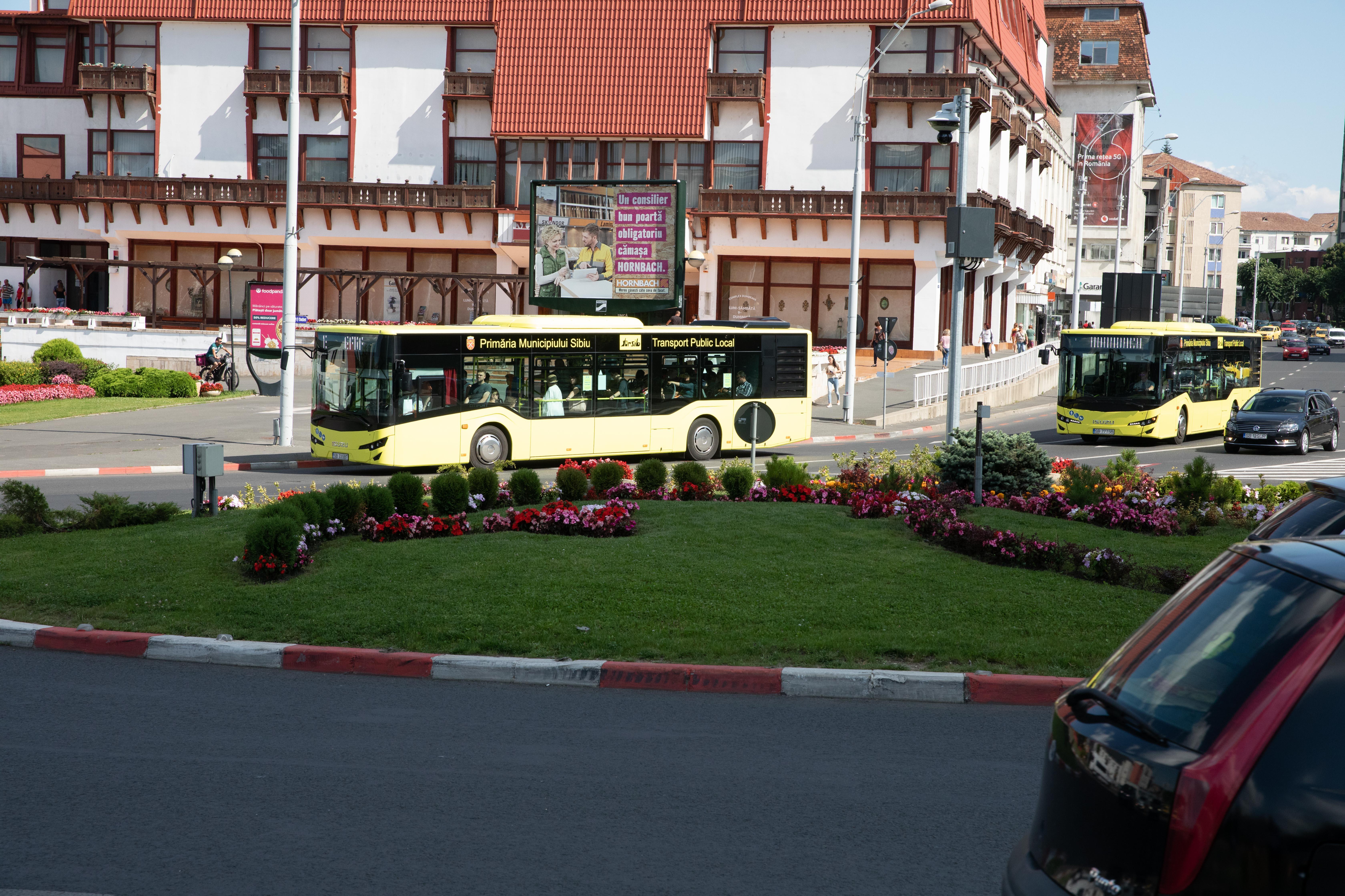 Propunerile studenţilor pentru îmbunătăţirea transportului public din Sibiu