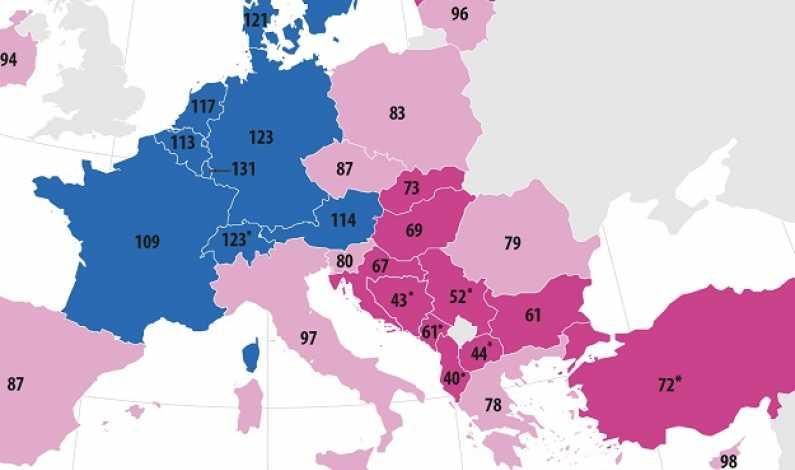 Eurostat: Românii au o putere de cumpărare peste cea a grecilor, ungurilor, bulgarilor sau slovacilor