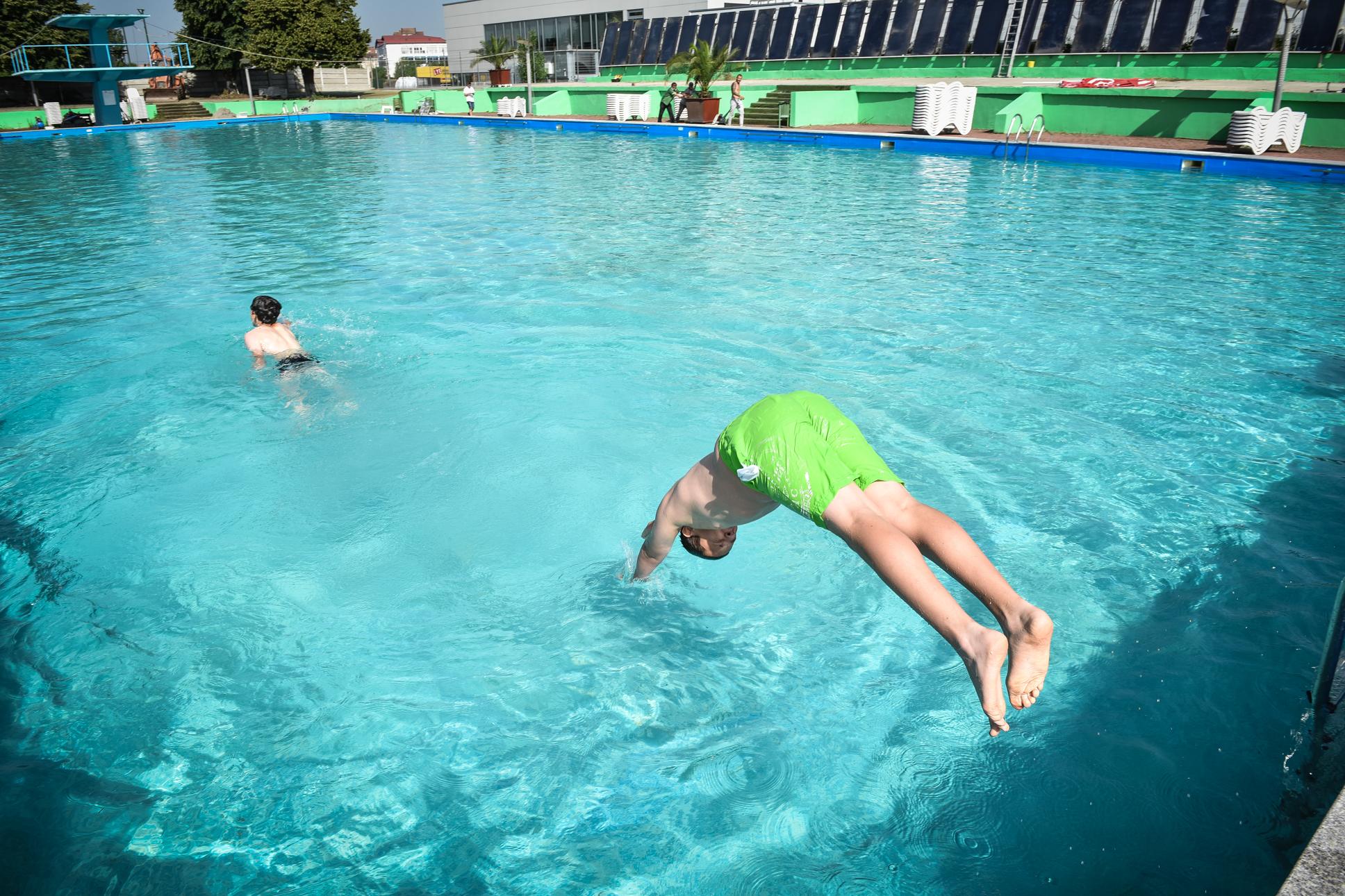 FOTO-VIDEO S-a redeschis ștrandul Aqua Fun din Sibiu