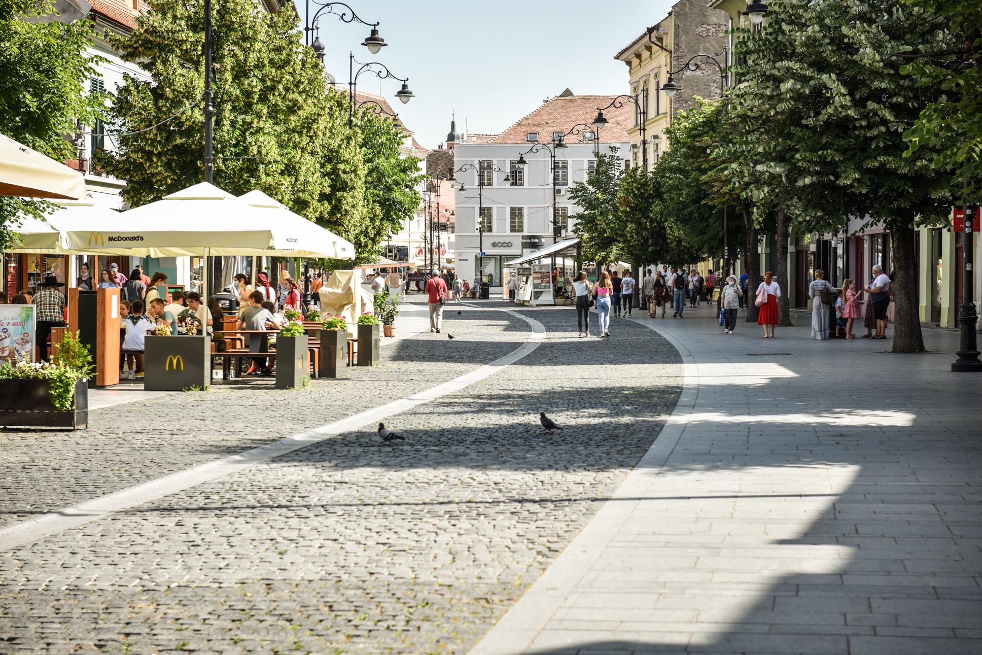 0,05 - incidența în județul Sibiu. Doar 8 cazuri active în municipiu