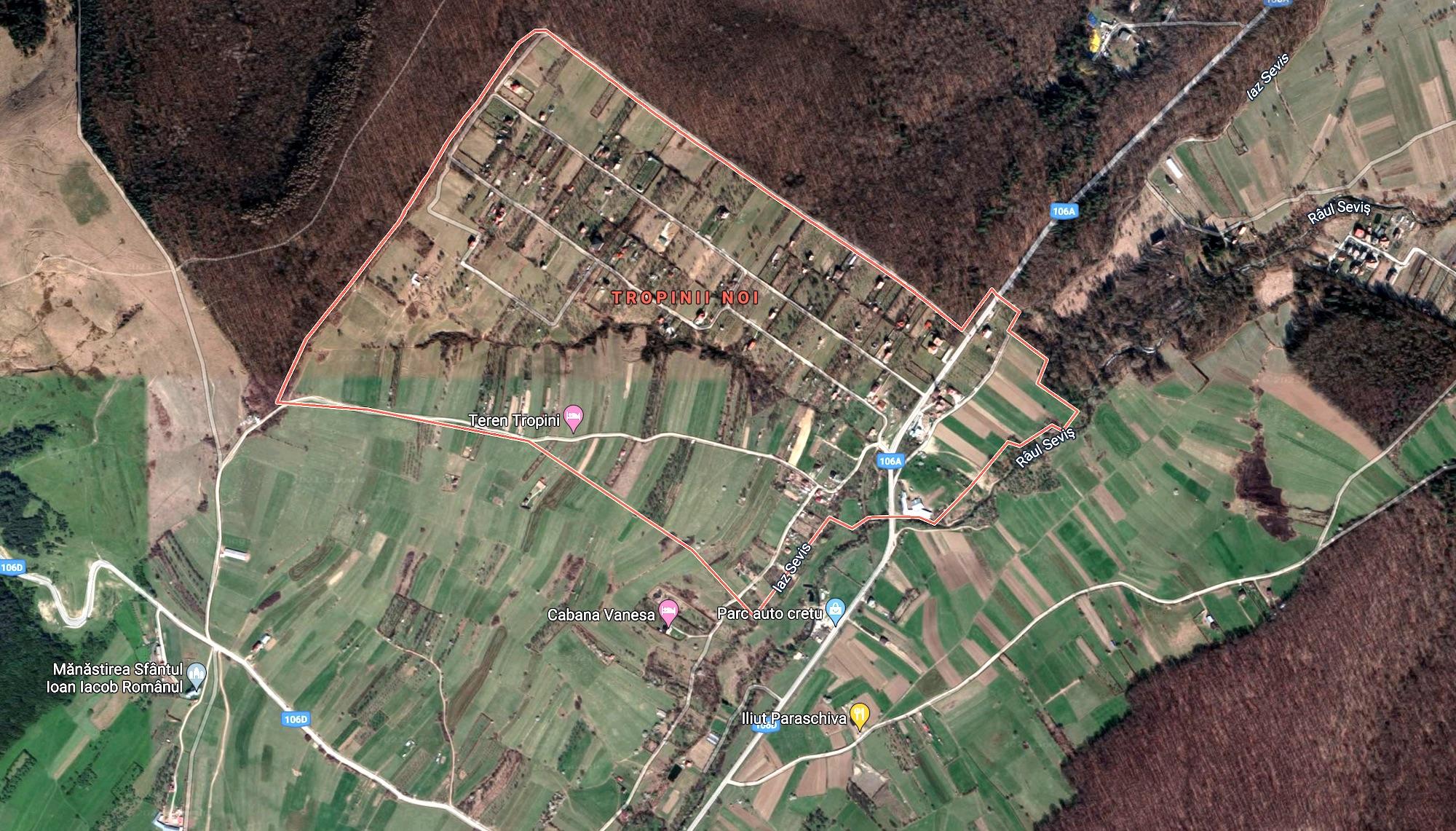 Anormalitatea de la periferie: casele și terenurile aparțin de Sibiu, drumurile – de Rășinari