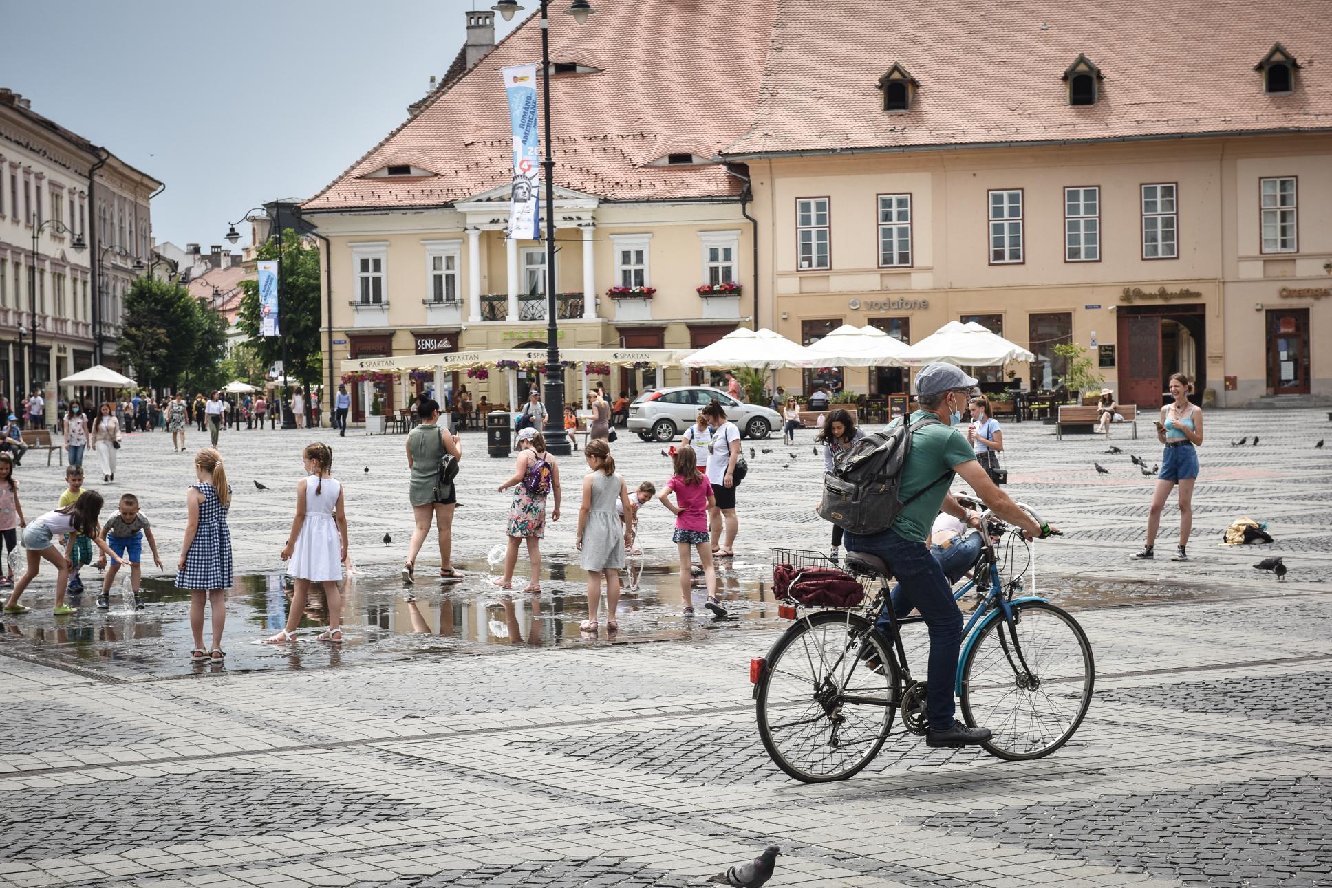 0,02 - incidența în orașul Sibiu. Doar trei cazuri active