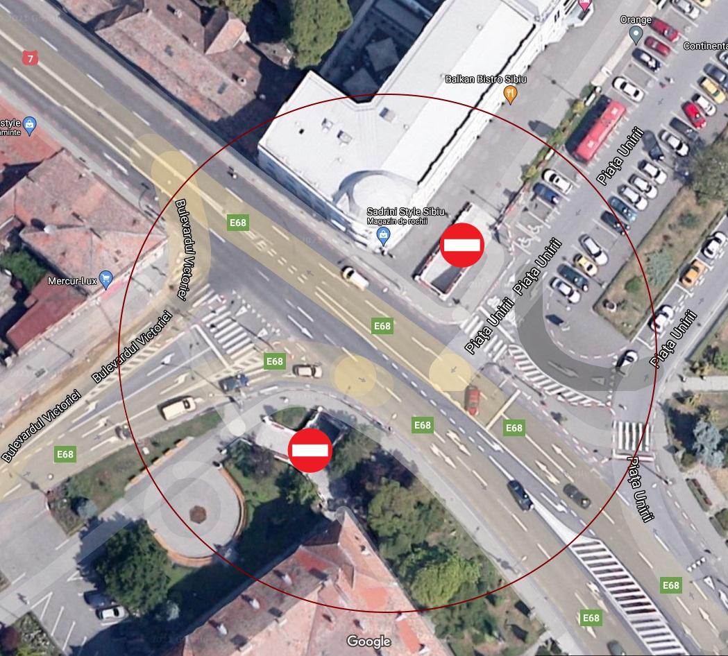 Pasajul subteran dintre strada Andrei Șaguna și bulevardul Victoriei, închis începând de mâine