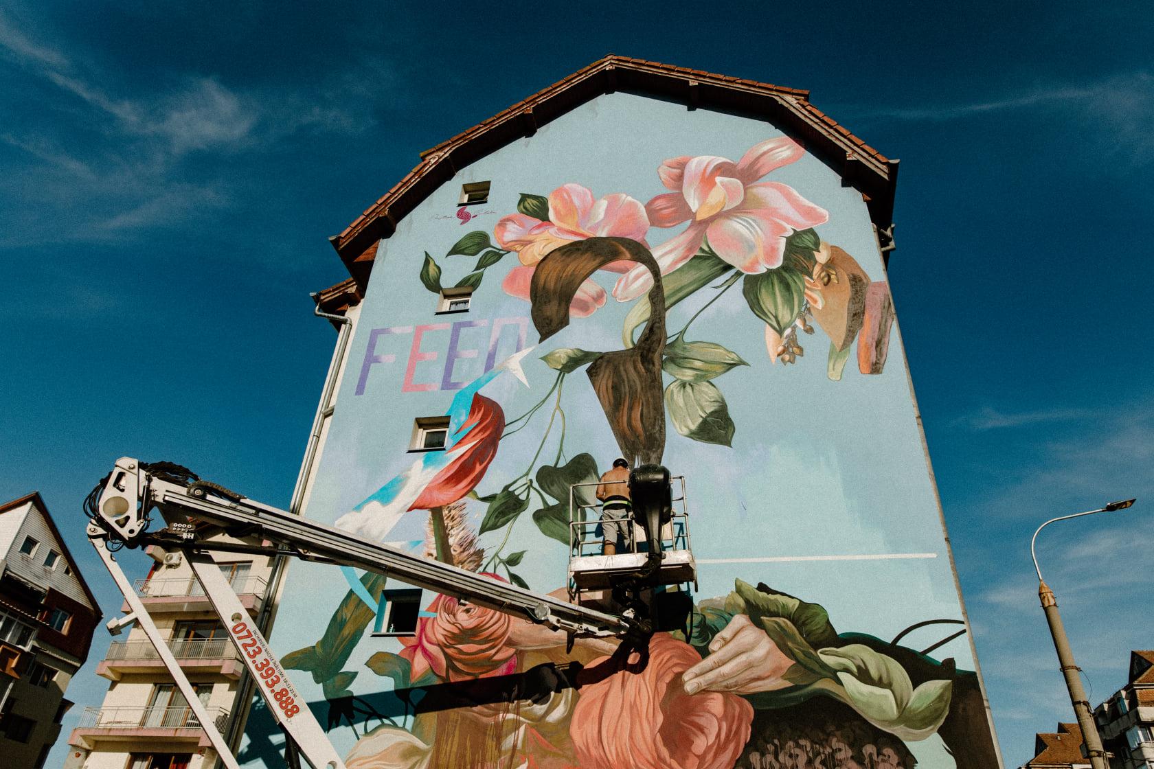 Zidurile orașului prind viață în luna iulie. S-au anunțat artiștii care vor picta la Street Art