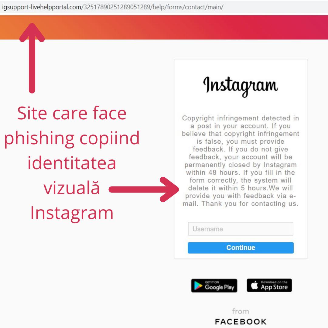 CERT-RO: Atenţie la mesajele private primite pe Instagram