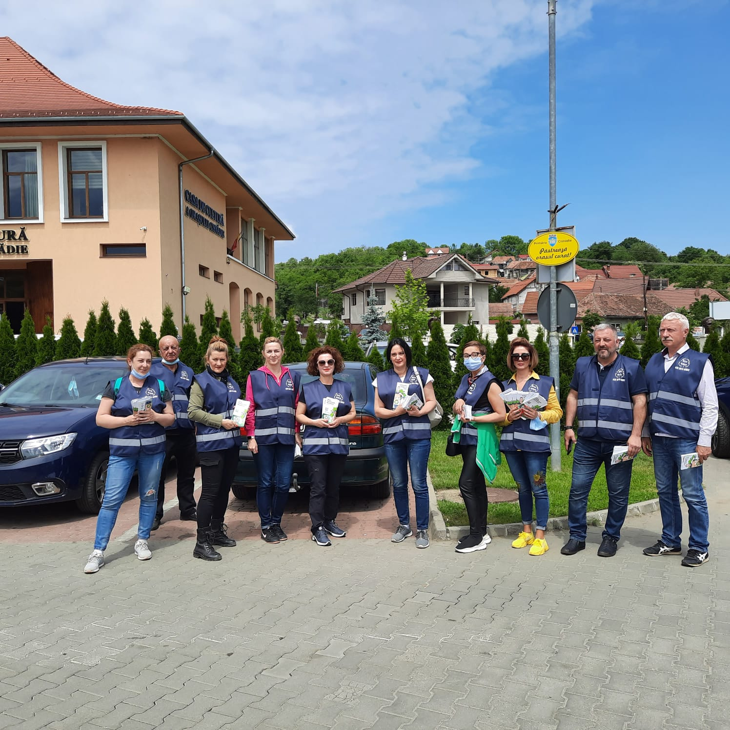 Împreună pentru un mediu mai curat. ADI ECO Sibiu: Acțiuni de ecologizare și informare la Ocna Sibiului, Cisnădie și Rășinari