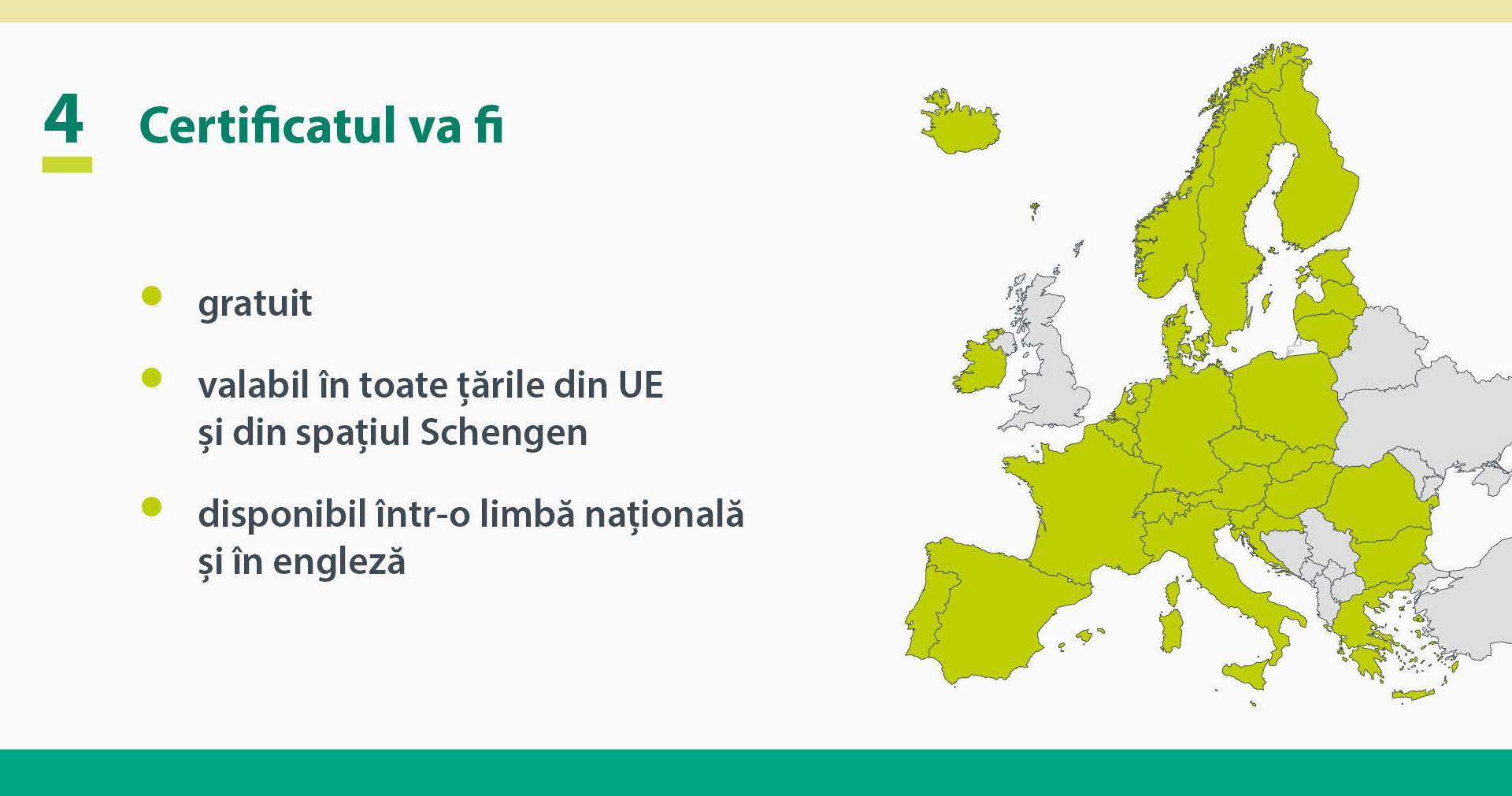 Certificatul digital al UE a fost aprobat oficial și se va aplica de la 1 iulie