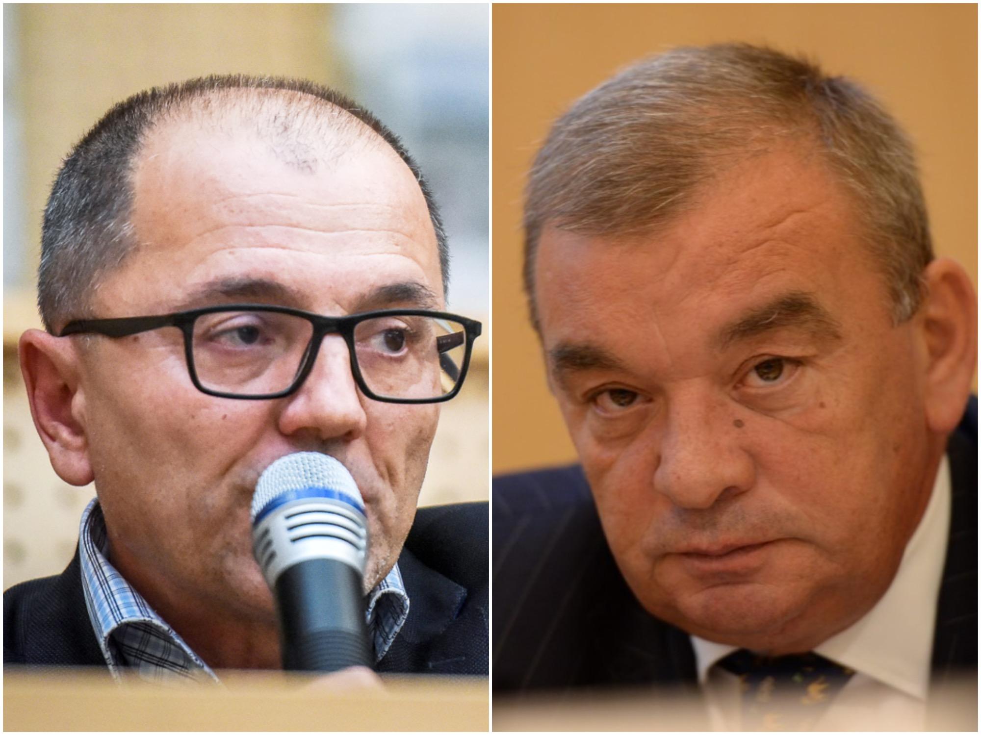 Iordănescu vs Aldea: scandal pe 650.000 de euro și o creanță cumpărată la Camera de comerț Sibiu. Aldea a fost îndepărtat