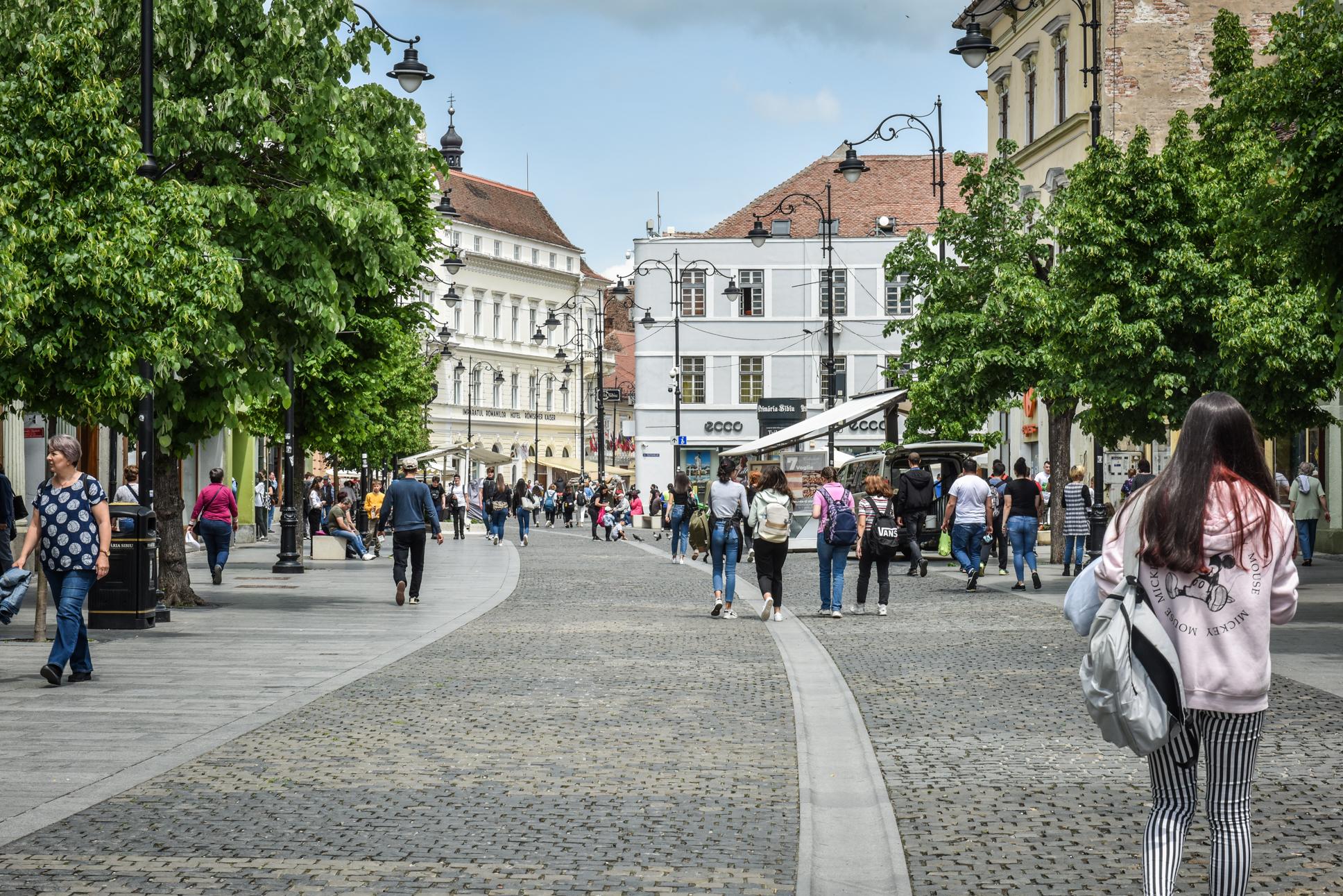 0,29 - incidența în orașul Sibiu, cu 50 de cazuri active