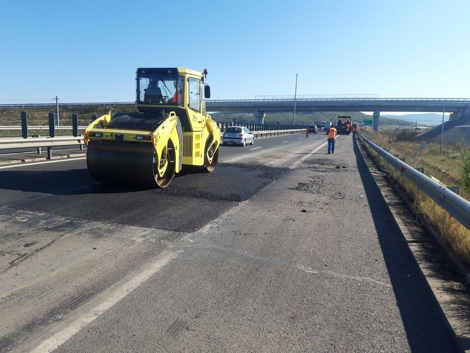 Circulaţie restricţionată o săptămână pe A1 Deva - Sibiu, pentru efectuarea de lucrări