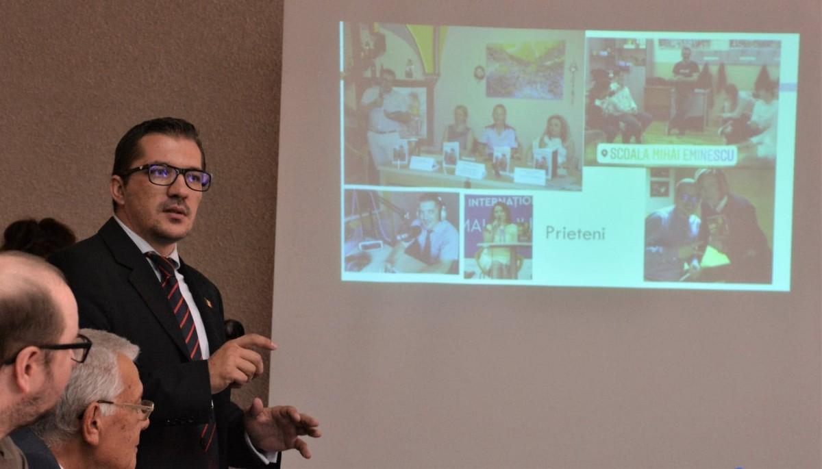 Psihologul sibian Mihai Copăceanu, în echipa cancelariei Guvernului într-un program național pentru elevi