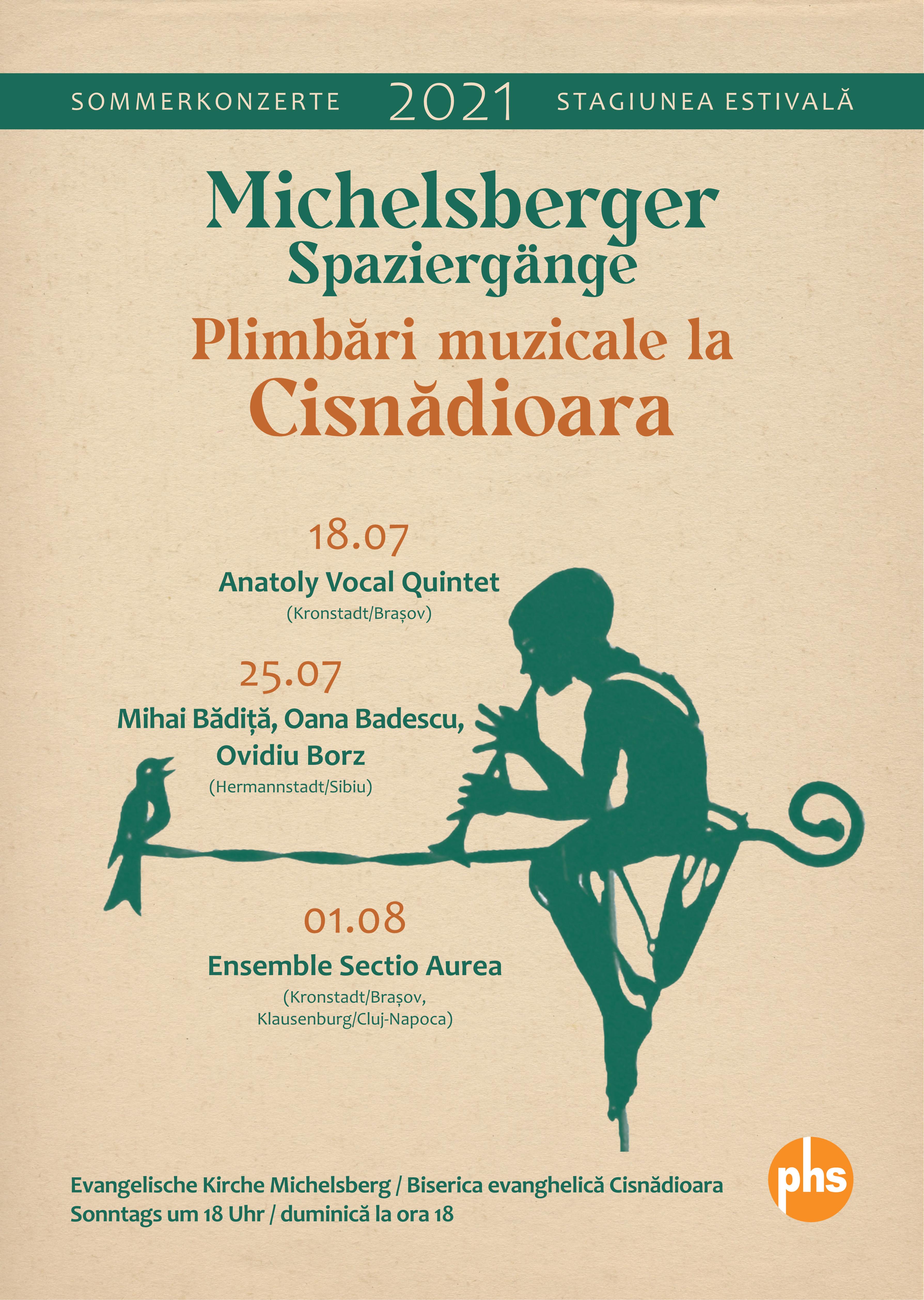 """Începe stagiunea de concerte """"Plimbări muzicale la Cisnădioara"""". Primul eveniment are loc duminică"""
