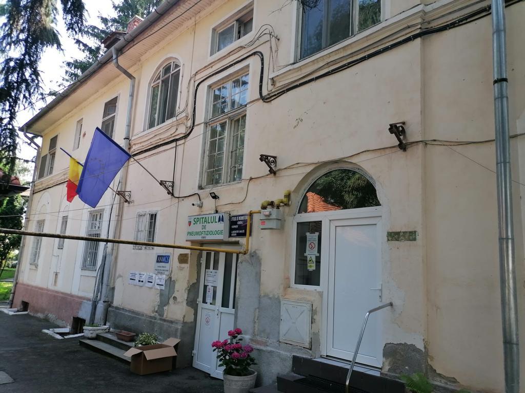 Alte două clădiri ale Spitalului de Pneumoftiziologie Sibiu vor fi reabilitate termic cu fonduri UE: Pavilionul II și Pavilionul Administrativ