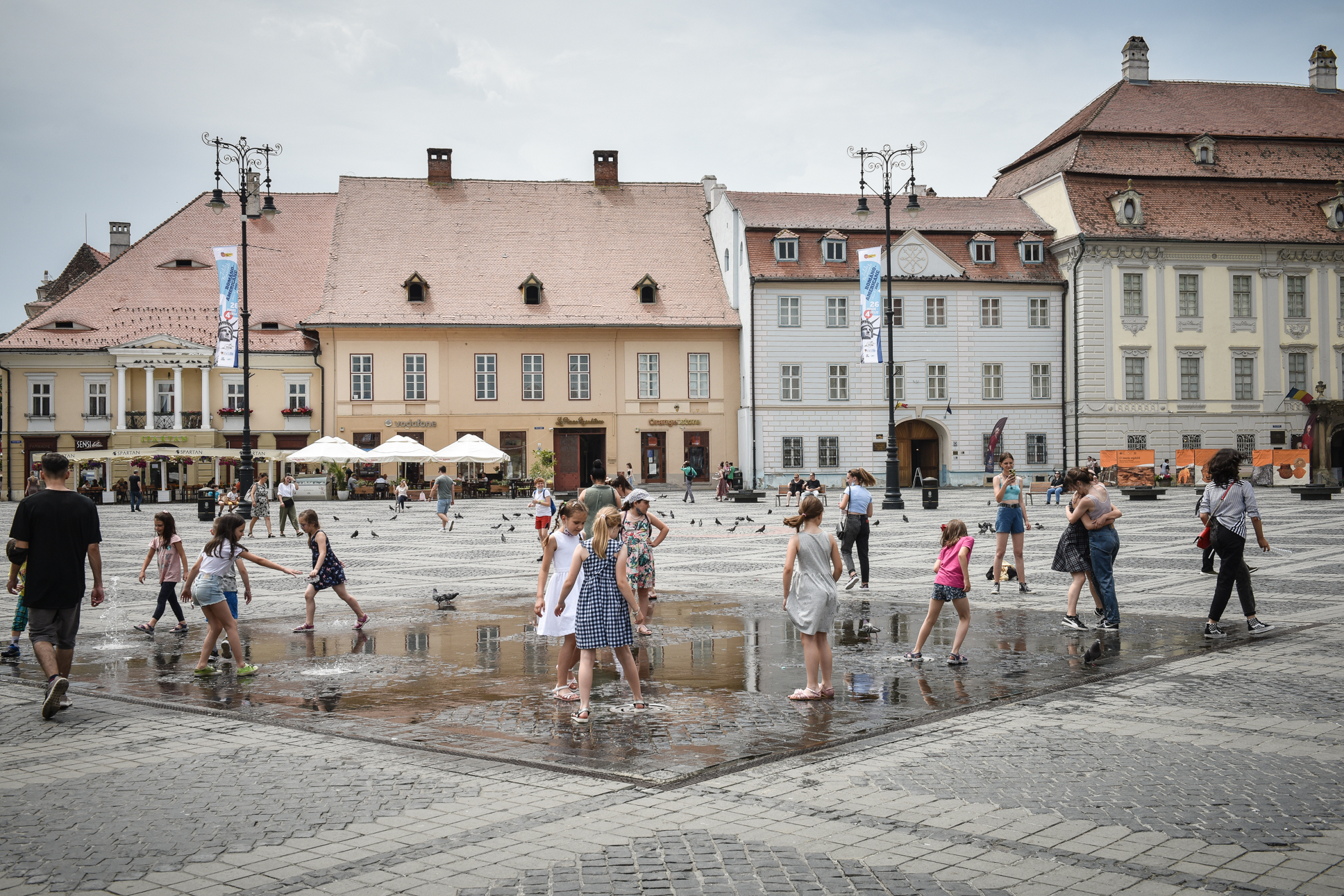 Incidența în municipiul Sibiu crește. Alte două localități din județ au incidența peste 0