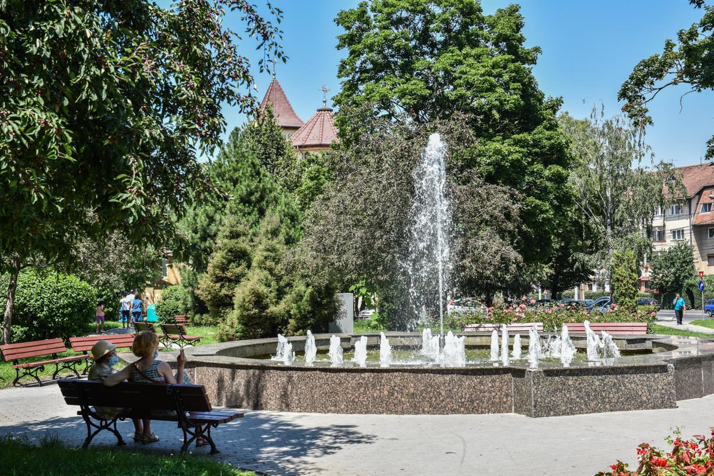 Vreme caniculară în Sibiu, până diseară
