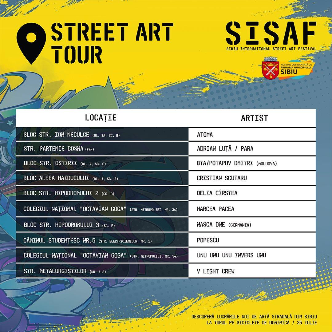 Cinci blocuri de locuinţe, Colegiul Octavian Goga și un cămin studenţesc vor fi pictate în cadrul Festivalului Internaţional de Artă Stradală
