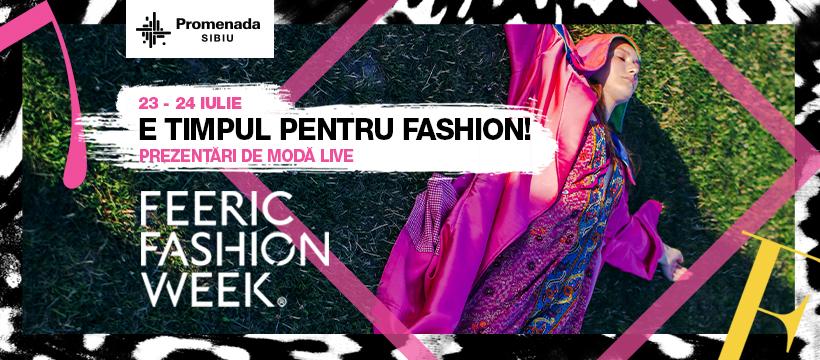 Promenada Sibiu este gazda Festivalului de modă Feeric Fashion Week 2021