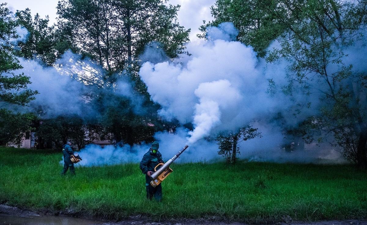 Acțiune de dezinsecție împotriva țânțarilor în Cimitirul municipal și Grădina zoologică
