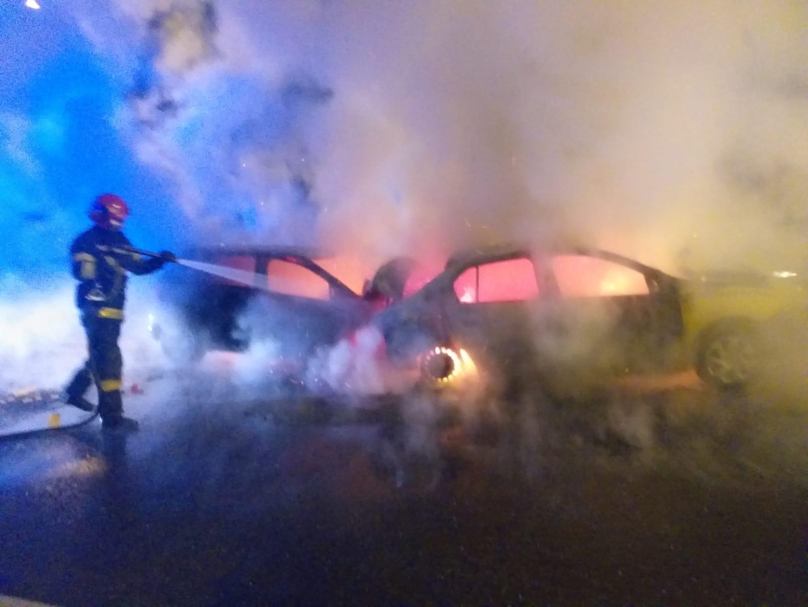 Actualizare foto - Doi șoferi implicați în carambolul de la Veștem erau din CIsnădie. Unul era în stare de ebrietate