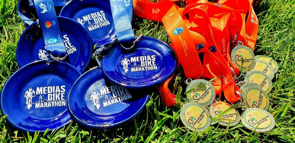 A patra ediție de cupe inedite realizate de echipa Mediaș Bike Marathon