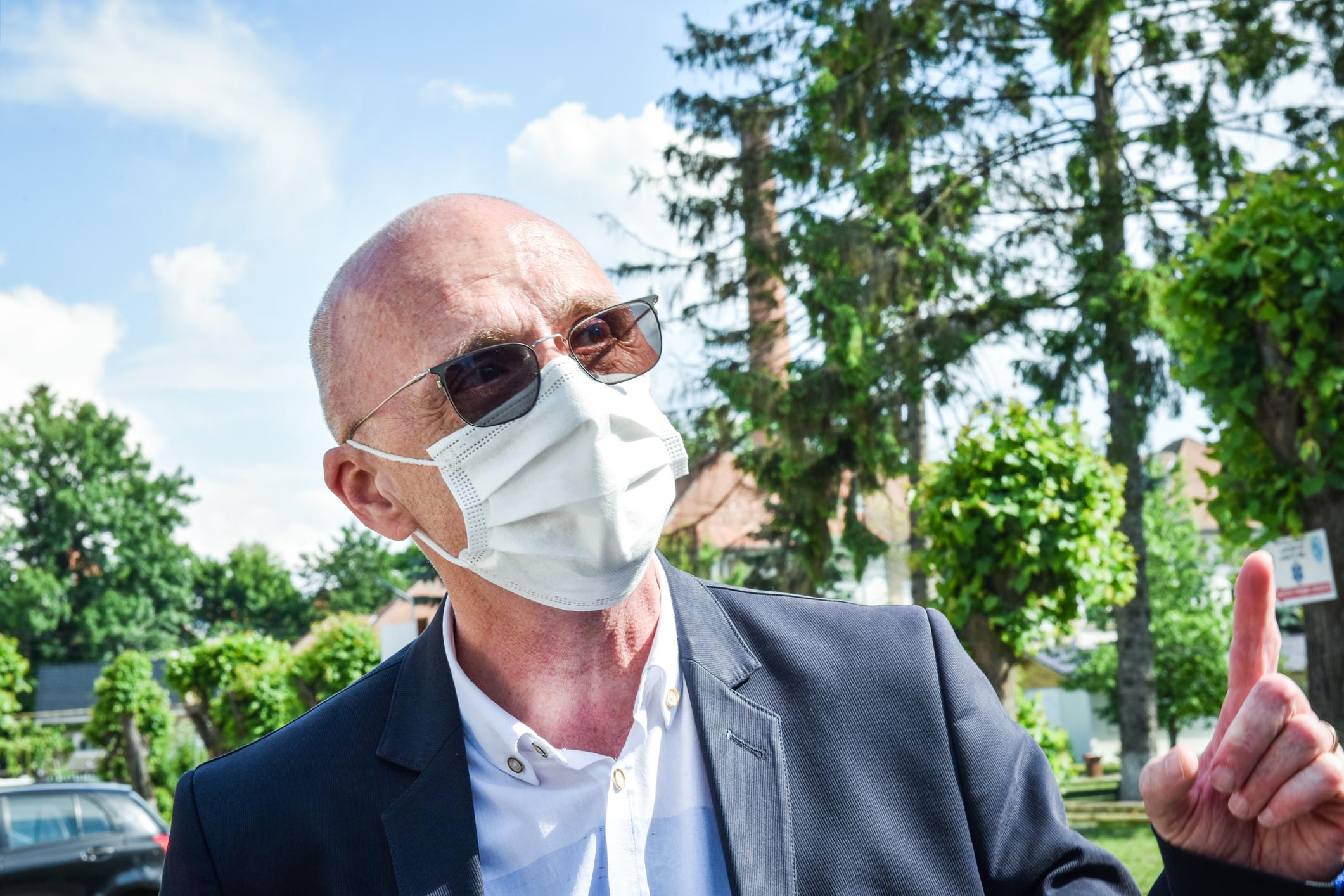 Medicul Călin Cipăian este singurul candidat pentru postul de director medical al Spitalului Județean Sibiu