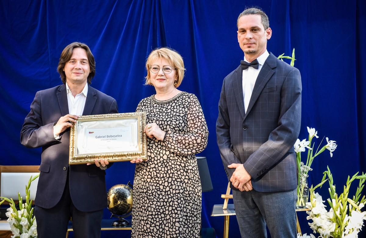 """FOTO Gabriel Bebeșelea, numit astăzi Ambasador onorific al Sibiului: """"Mulțumesc în primul rând orașului pentru că mi-a oferit șansa să fac parte din această cultură"""""""
