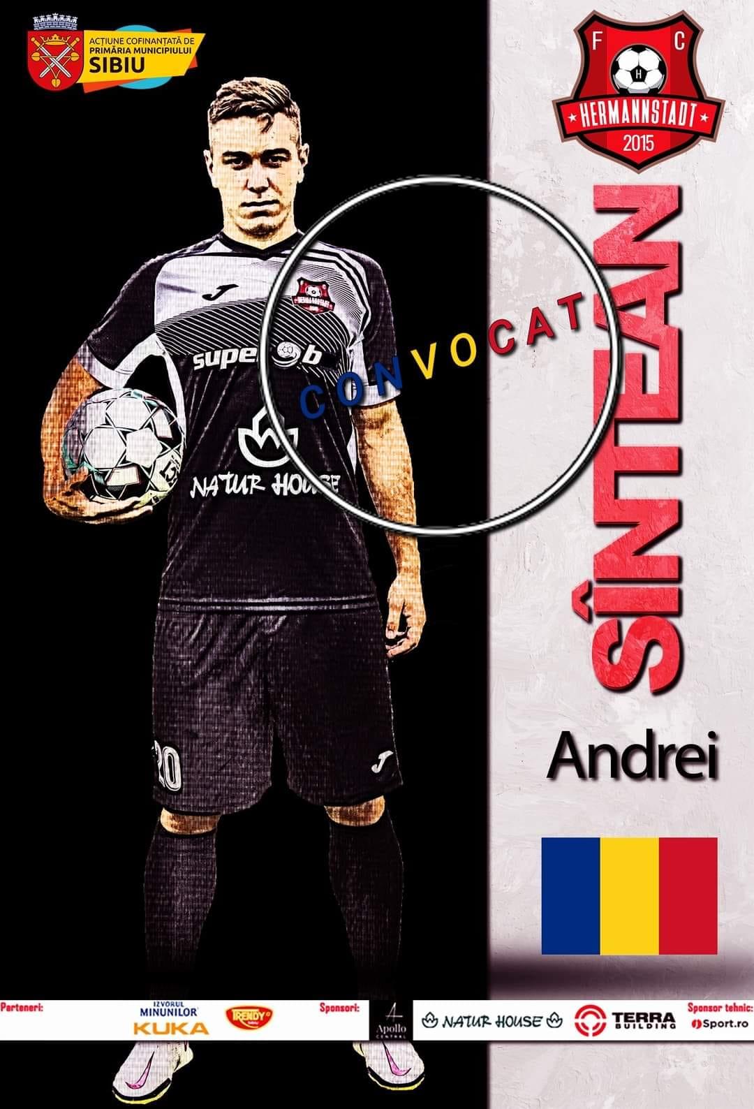 Andrei Sîntean, titular în meciul României contra Noua Zeelandă, de la JO 2020
