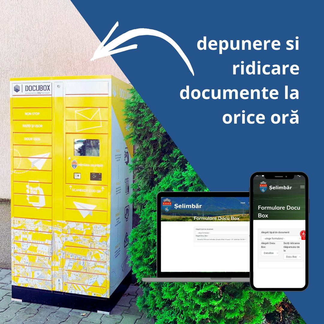 Premieră națională în Șelimbăr: S-a lansat serviciul de livrare al documentelor în căsuță poștală