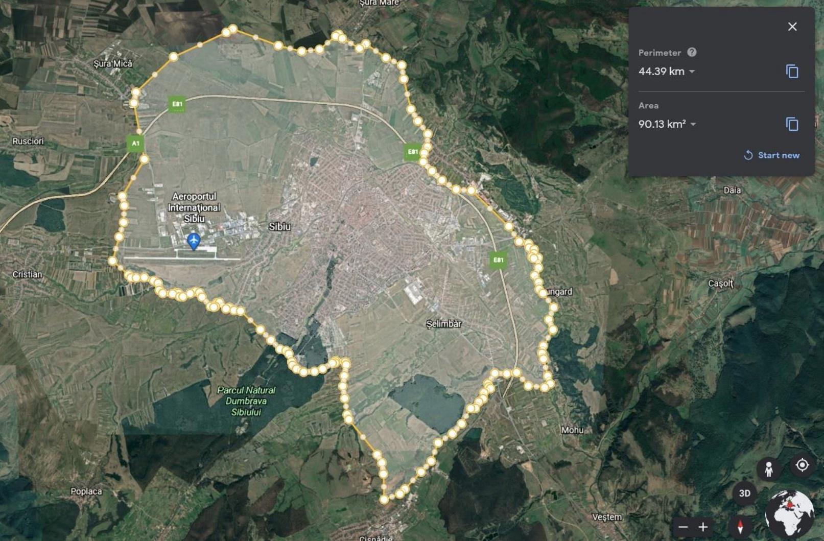 """Proiect: Centura velo a Sibiului. """"Putem gândi o centura velo care sa ocolească întreg orașul, un inel care să lege toate localitățile limitrofe"""""""