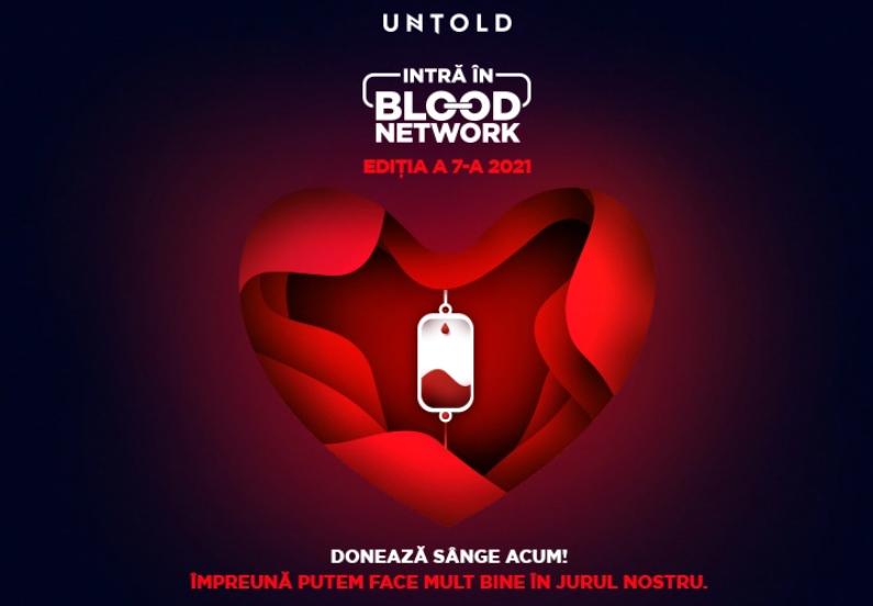 UNTOLD: Donezi sânge și primești un bilet gratuit pentru prima zi de festival. Caravana vine la Sibiu în weekend