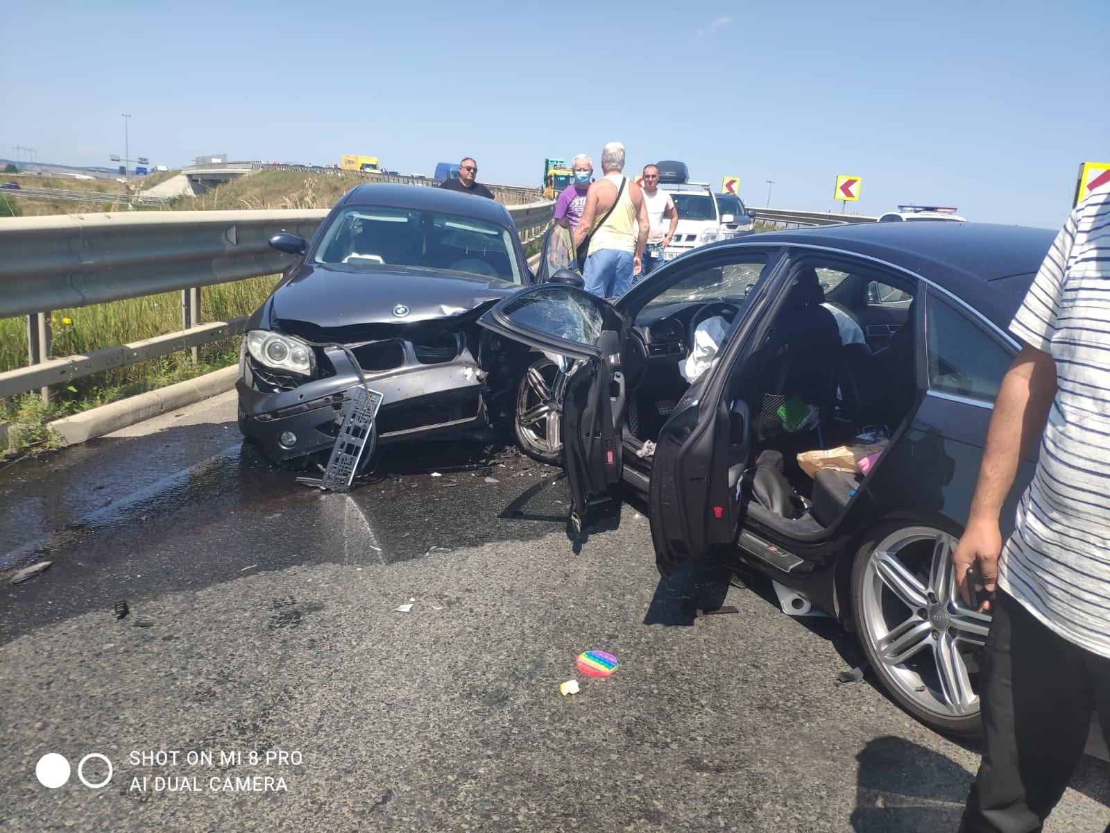 Actualizare: Sunt șase victime implicate în accidentul de pe drumul spre Ocna Sibiului. Trei sunt copii