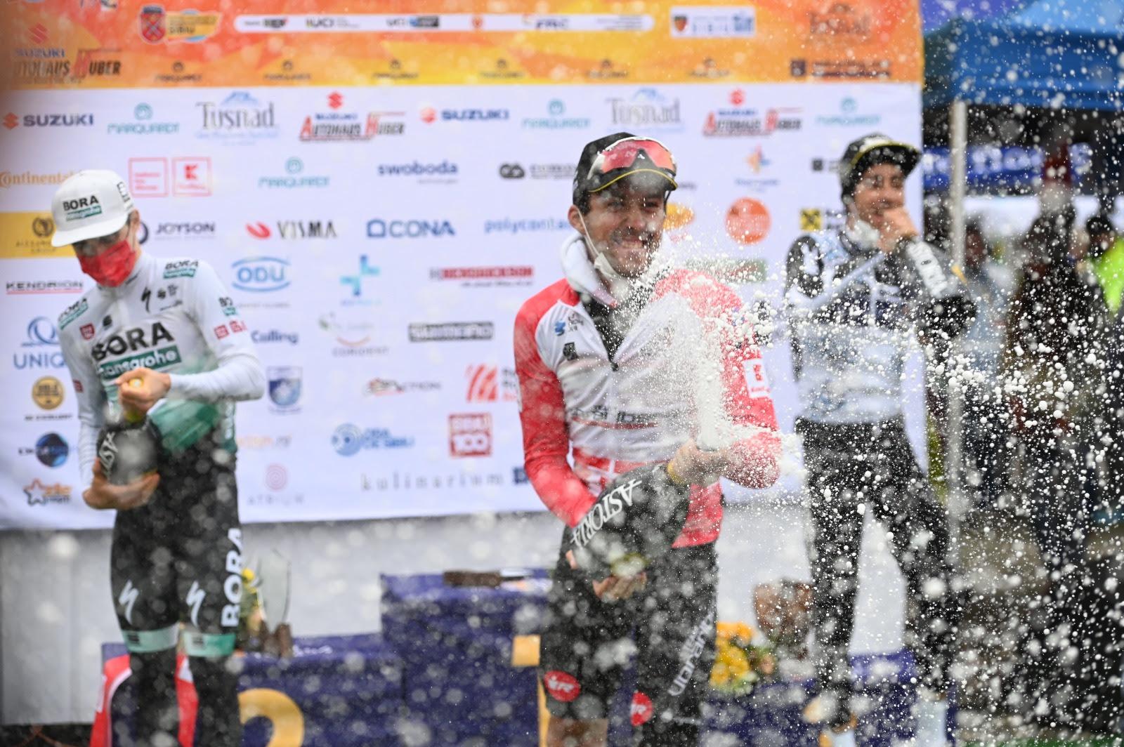 Alexis Guérin a câștigat a doua etapă a Turului Ciclist al Sibiului