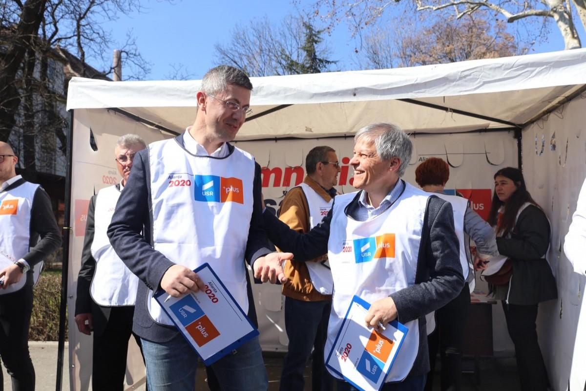 Dacian Cioloș și-a anunțat candidatura la șefia USR PLUS