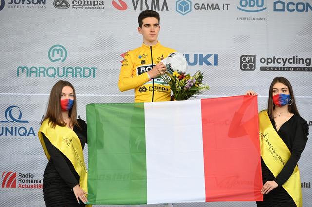 Giovanni Aleotti este câștigătorul Turului Ciclist al Sibiului