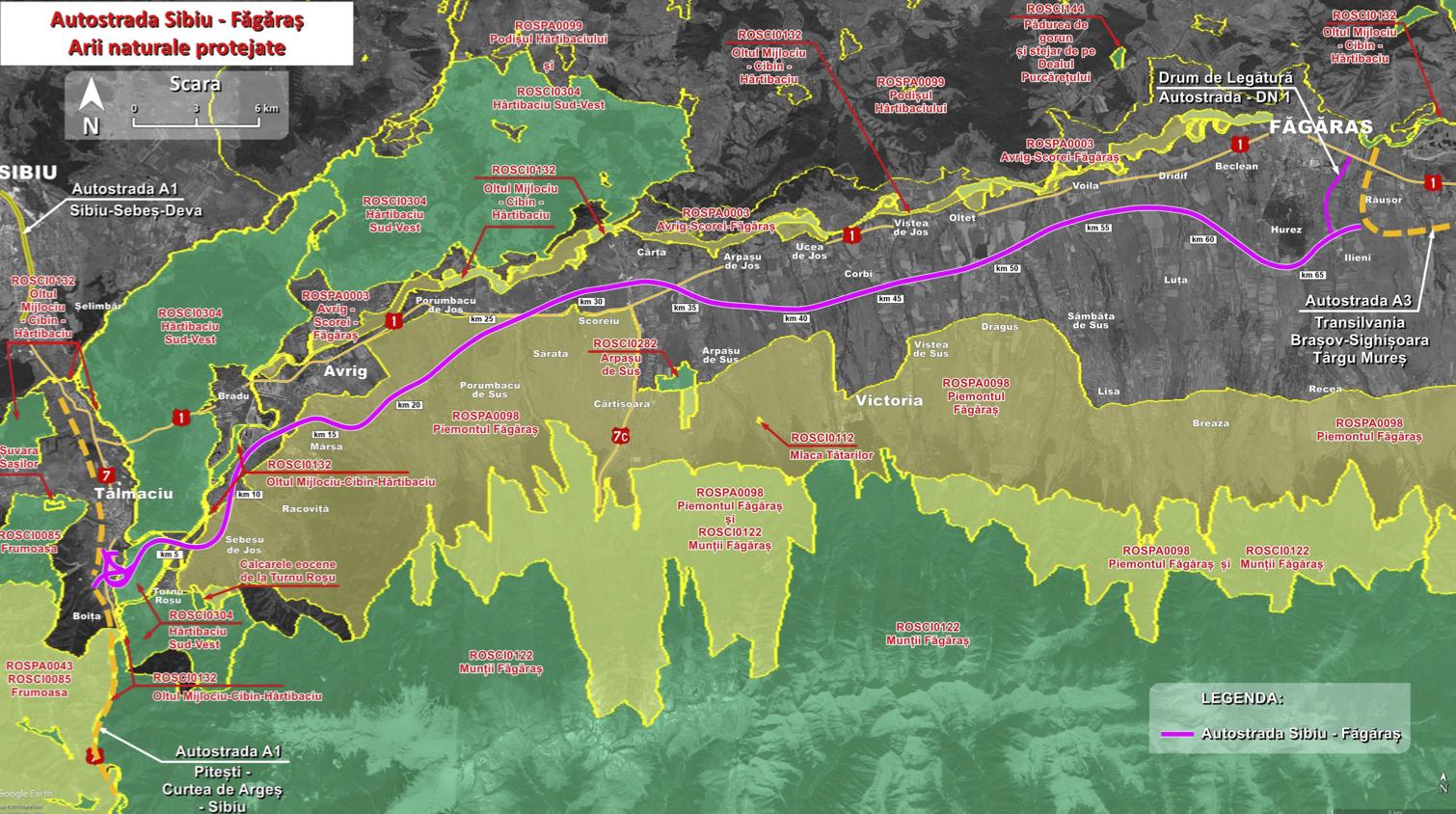 Ministrul Drulă: Autostrada Sibiu - Făgăraș va fi scoasă la licitație pentru proiectare și execuție până la sfârșitul lui septembrie