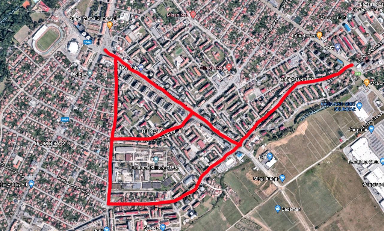 Schimbarea la față a Sibiului: cel mai mare proiect de reconfigurare a traficului tocmai a fost lansat