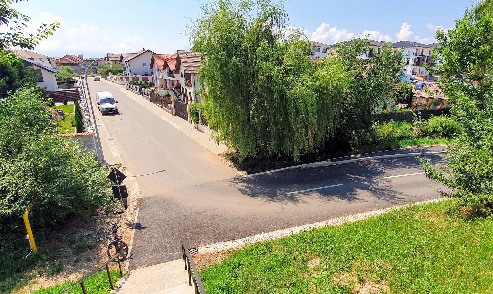 VIDEO Cum arată noul drum de legătură dintre Sibiu și Șelimbăr