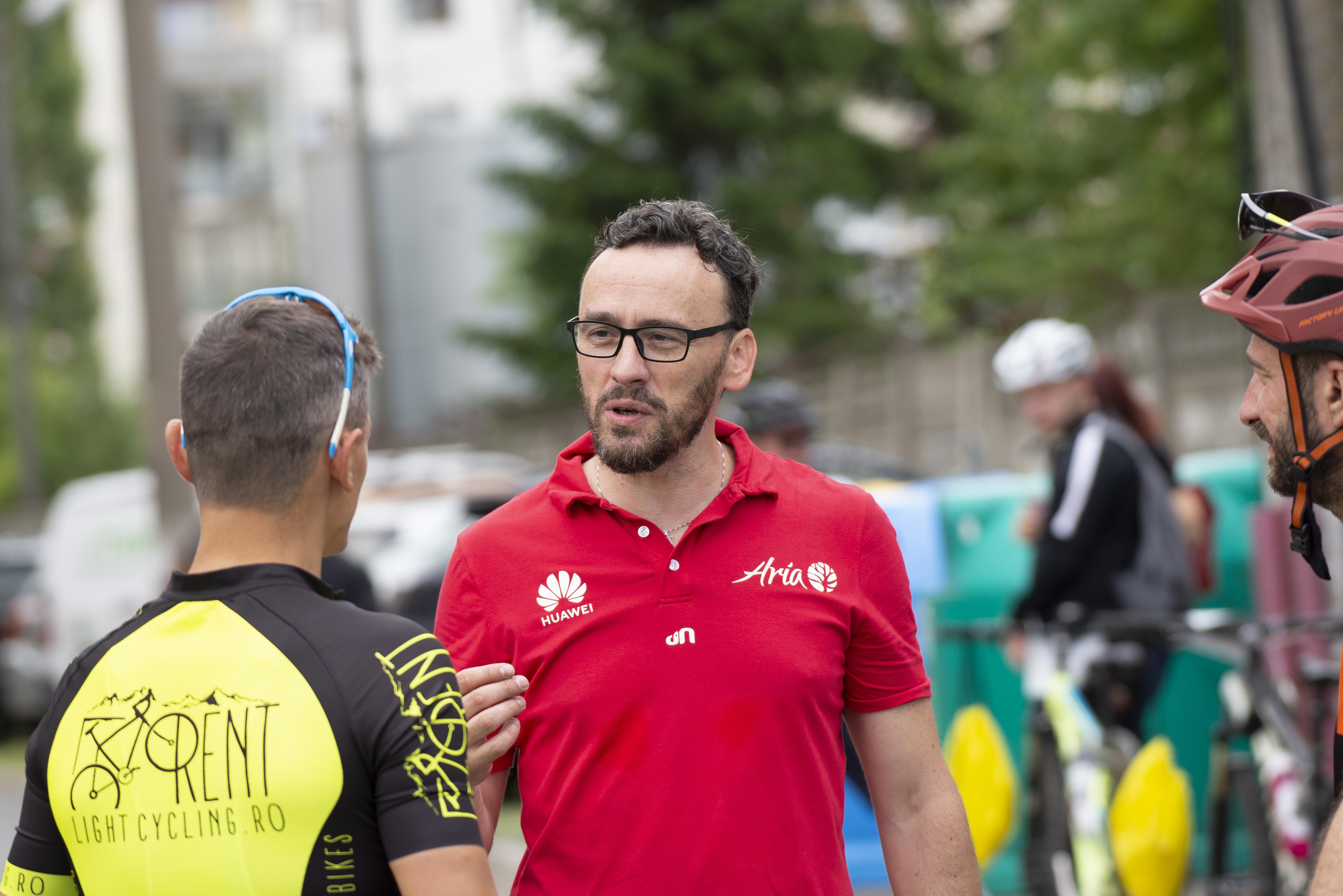 """Claudiu Niculciuc, președintele Asociației Club Sportiv Aria pentru Sport: """"Pregătim mai multe surprize sibienilor pasionați de sport"""""""