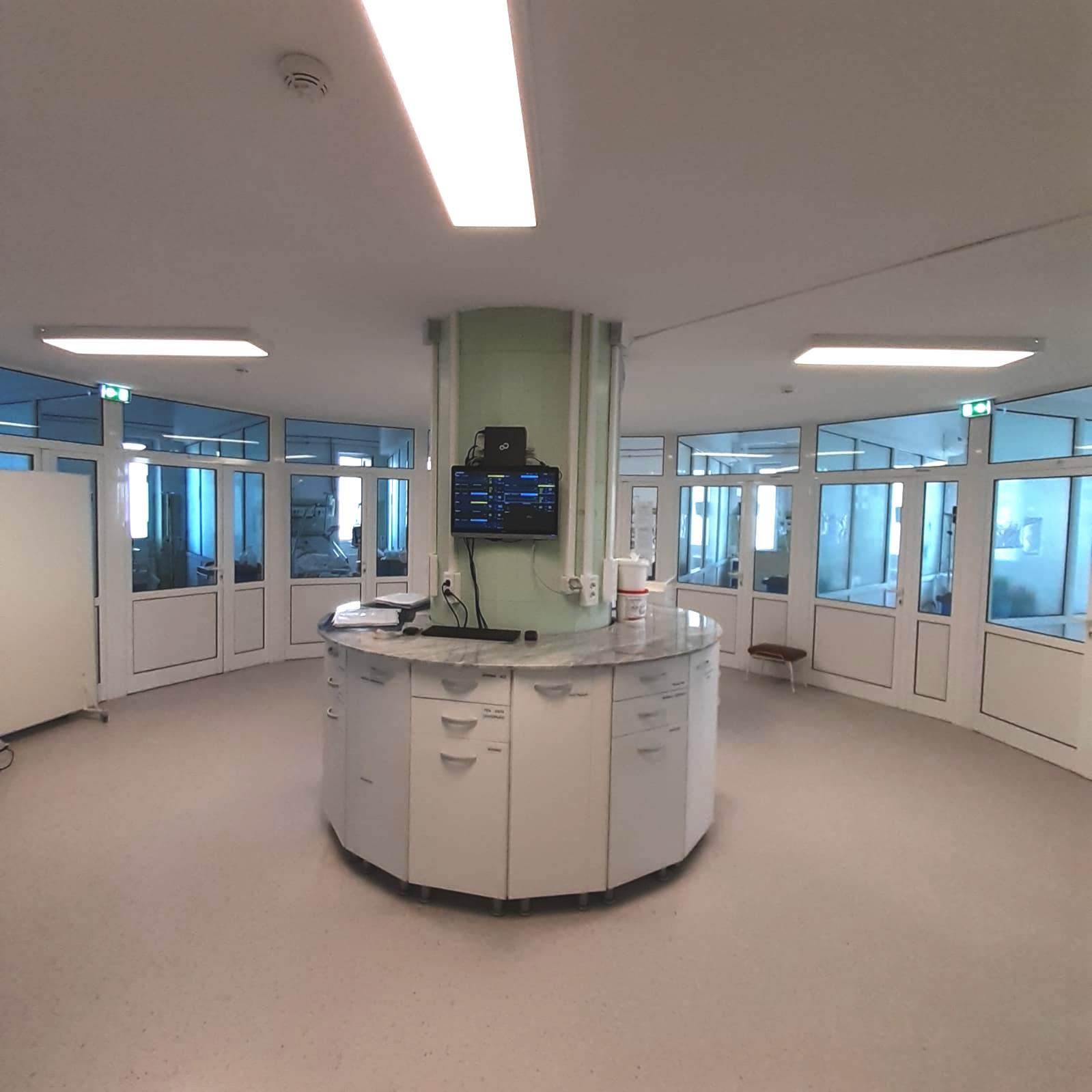 Spitalul Județean: Etajul doi al secției ATI a fost redeschis după modernizare