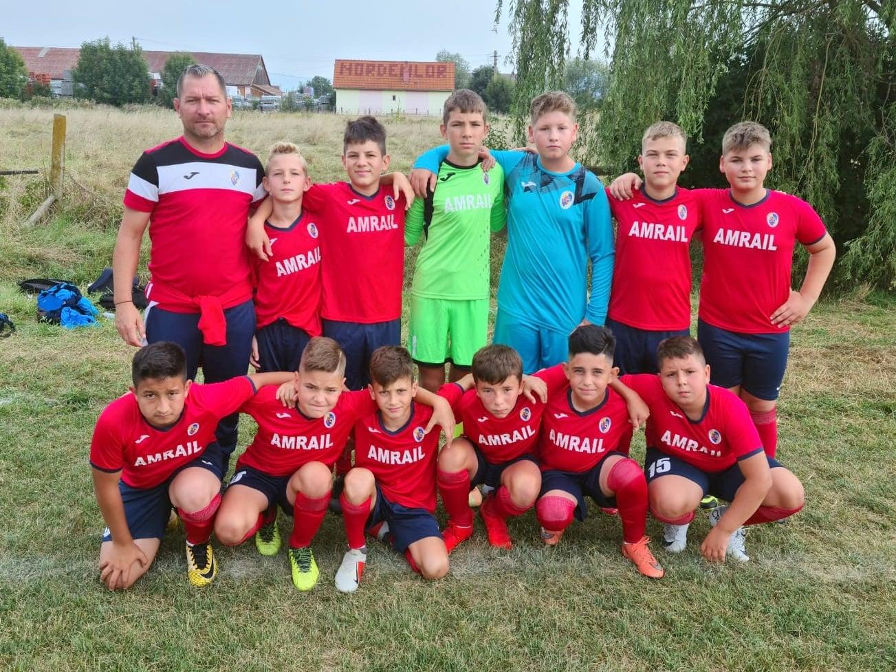 Clubul Sportiv Copşa Mică a participat la turneul de fotbal Cupa Sporting & Best Kids Reghin 2021
