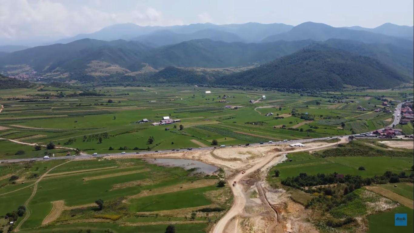 VIDEO  Drulă: săptămâna aceasta începe asfaltarea tronsonului Sibiu - Boița. Stadiul lucrărilor pe lotul 1 al A1 Sibiu-Pitești este de 46%