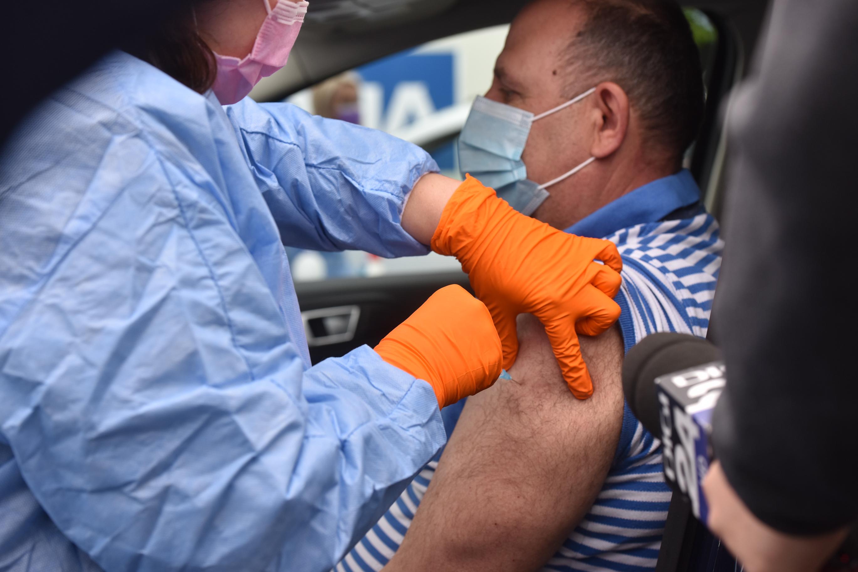 Peste 200 de sibieni au fost vaccinați în ultimele 24 de ore