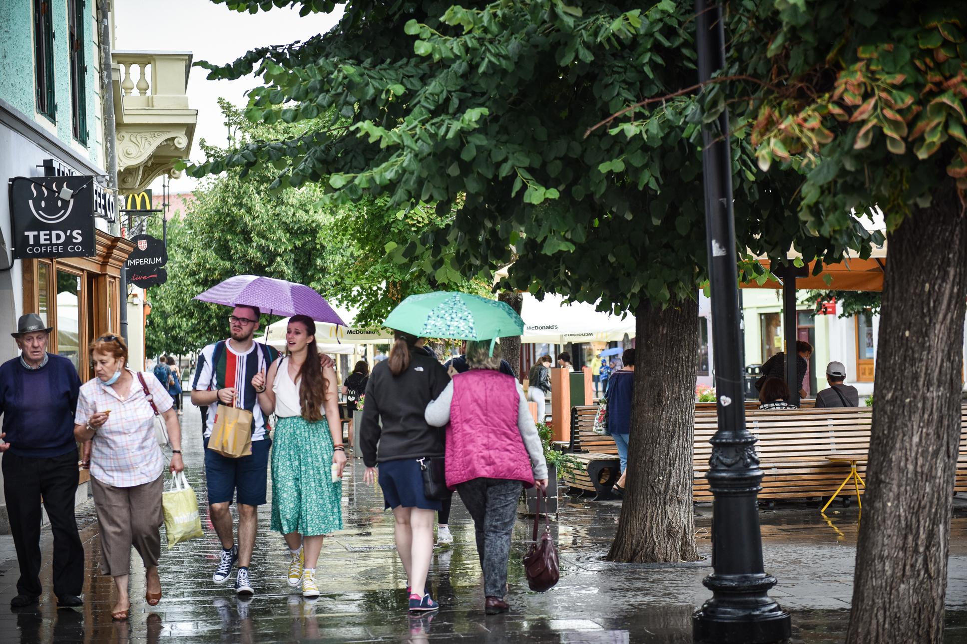 Cod galben de ploi în zona de sud a județului Sibiu