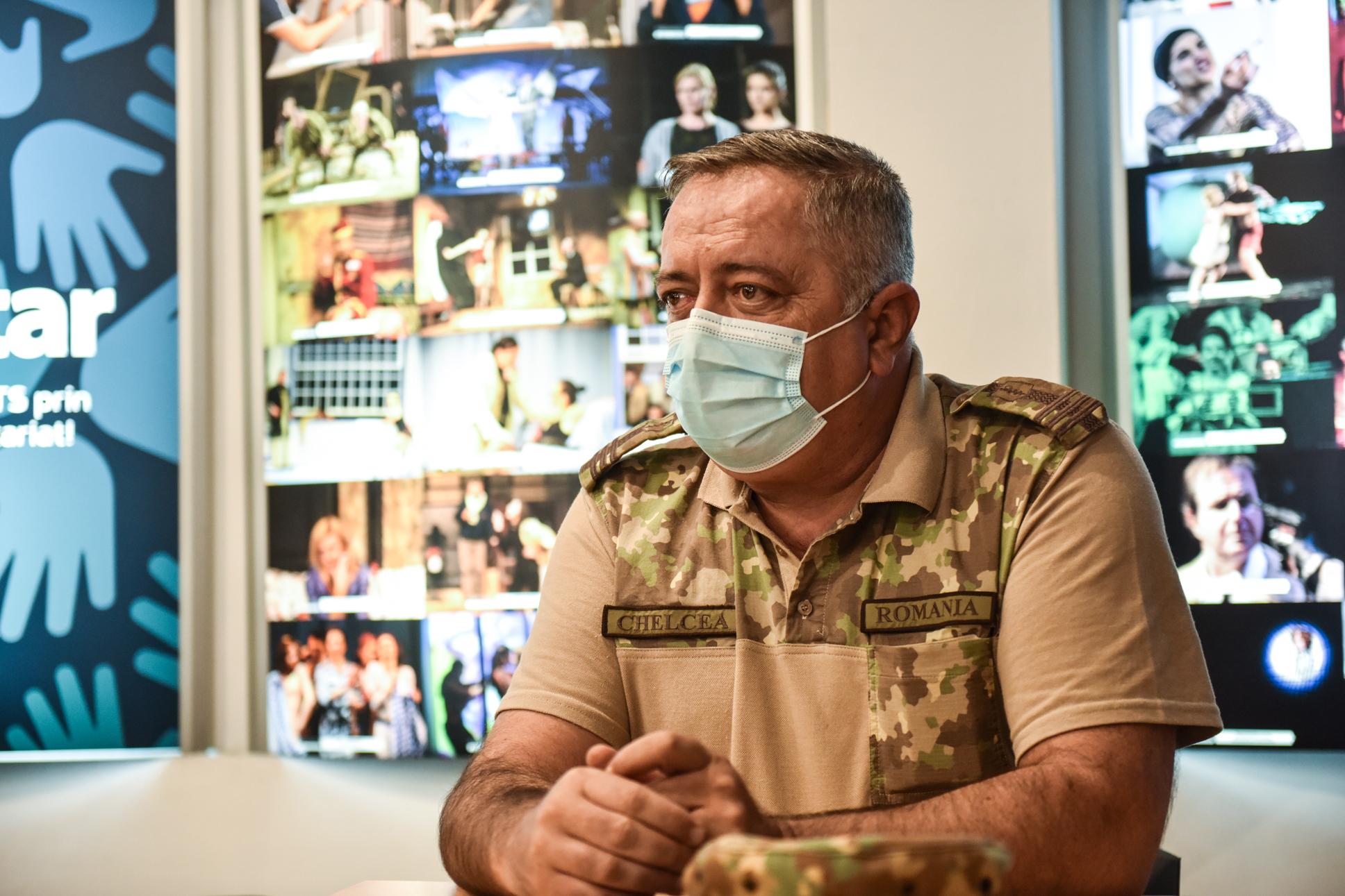 Col. dr. Daniel Chelcea e noul manager al Spitalului Clinic Județean