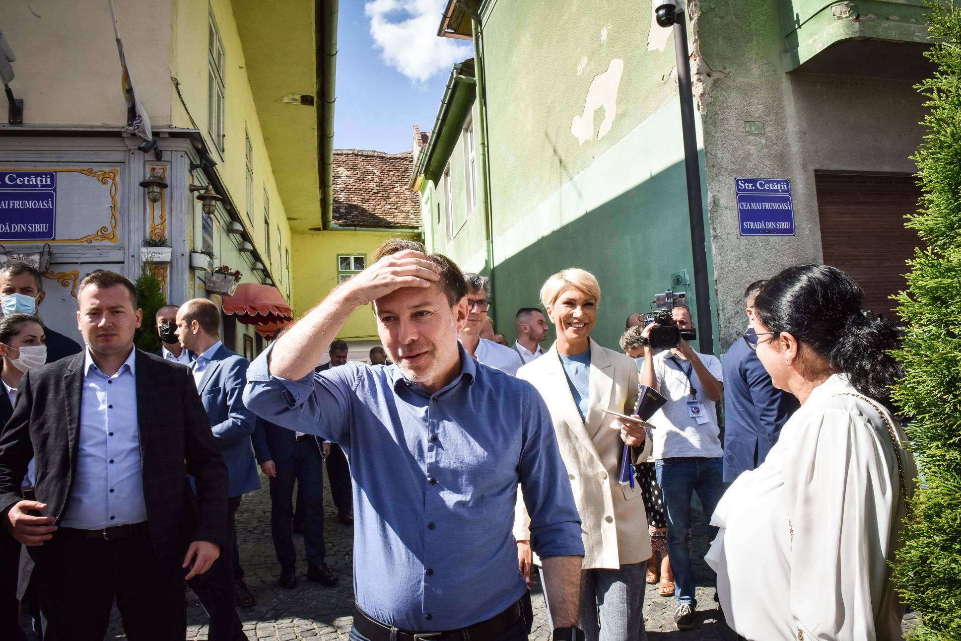 PNL Sibiu a votat moțiunea premierului Cîțu. Moțiunea lui Ludovic Orban a primit doar 11 voturi