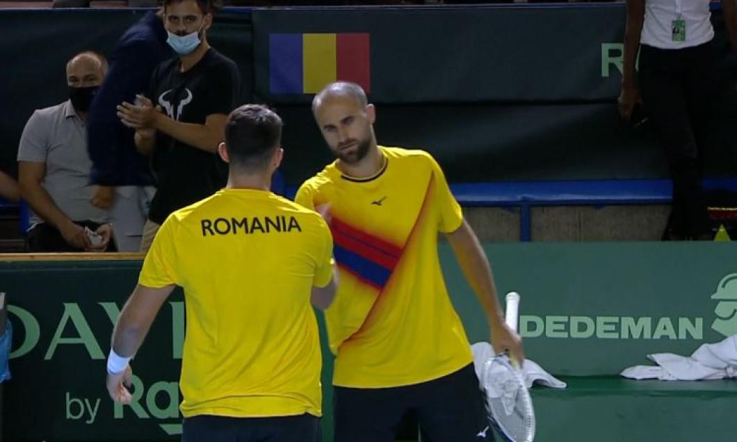 România conduce Portugalia (2-1), în Cupa Davis, după victoria din meciul de dublu