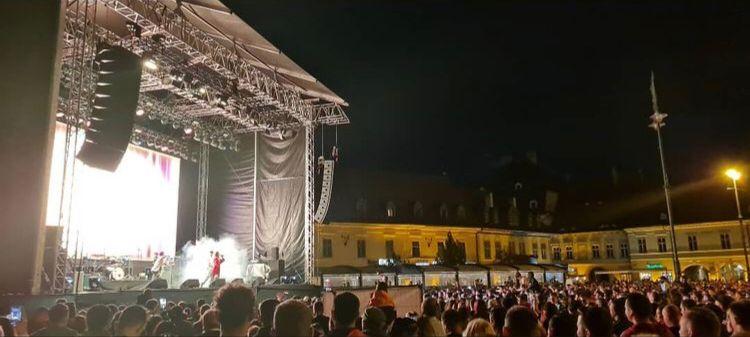Sute de oameni, prezenți la Sibiu Music Fest. Smiley și Dorian Popa, printre cei mai așteptați artiști